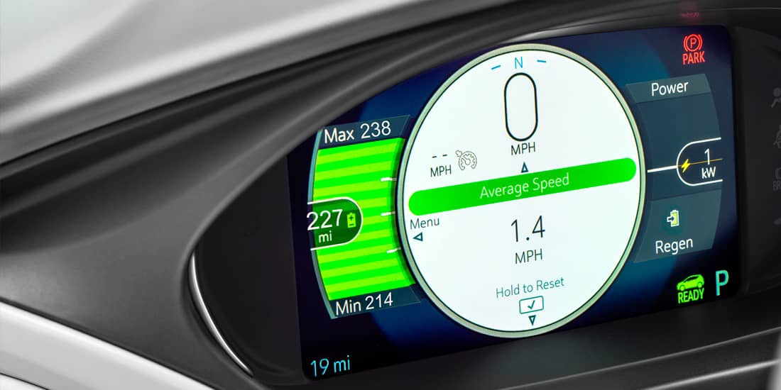 2019 Chevrolet Bolt EV Driver Information Center