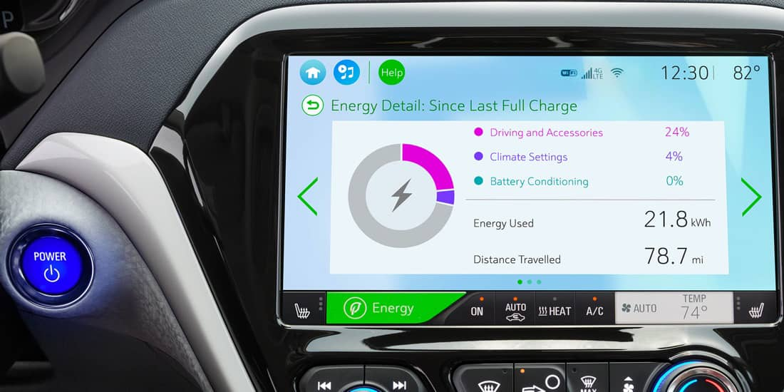 2019 Chevrolet Bolt EV Energy Details