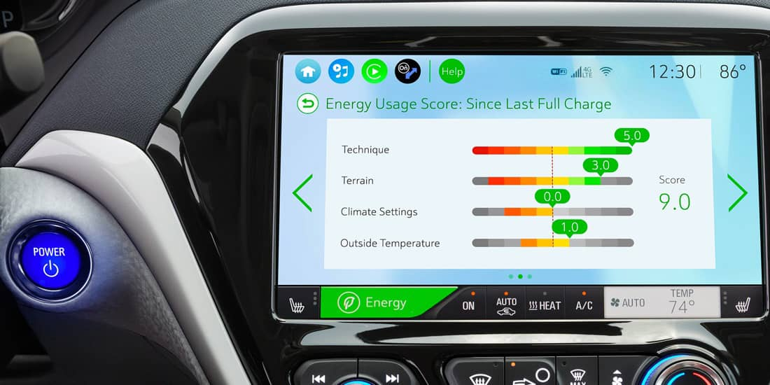 2019 Chevrolet Bolt EV Energy Usage Score