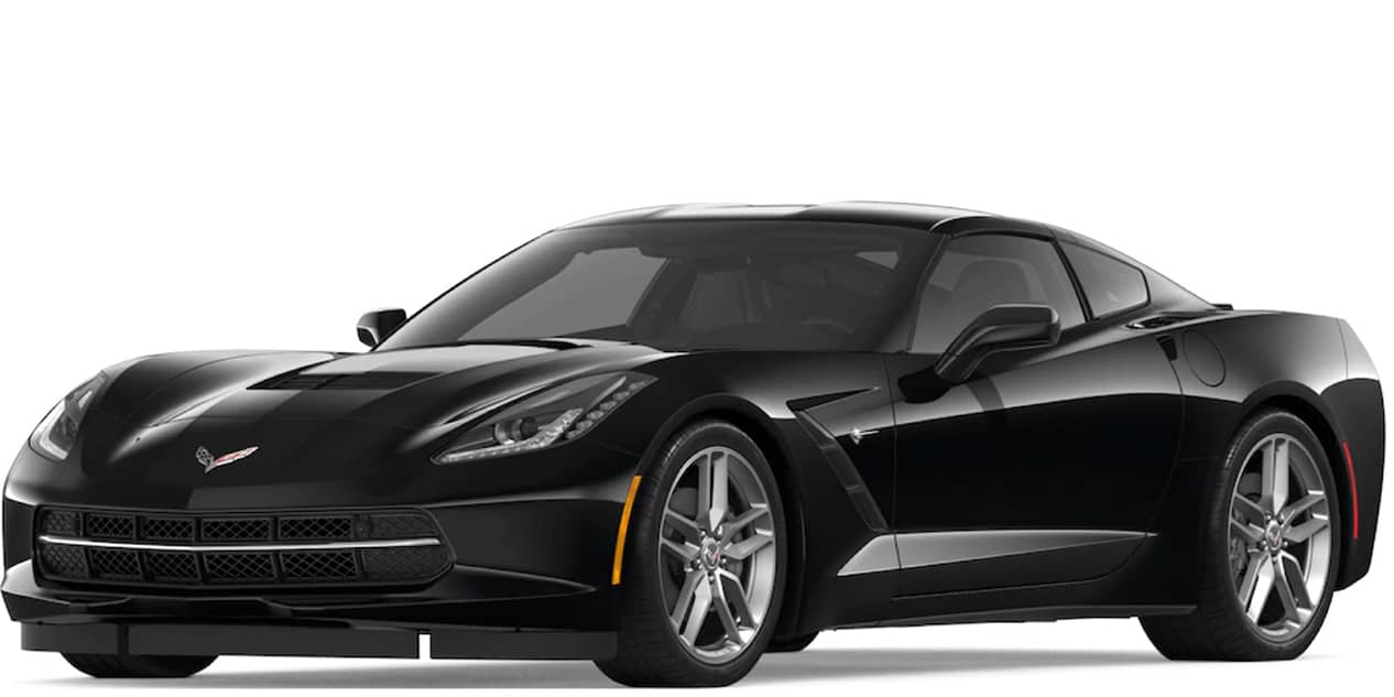 Black Corvette Stingray