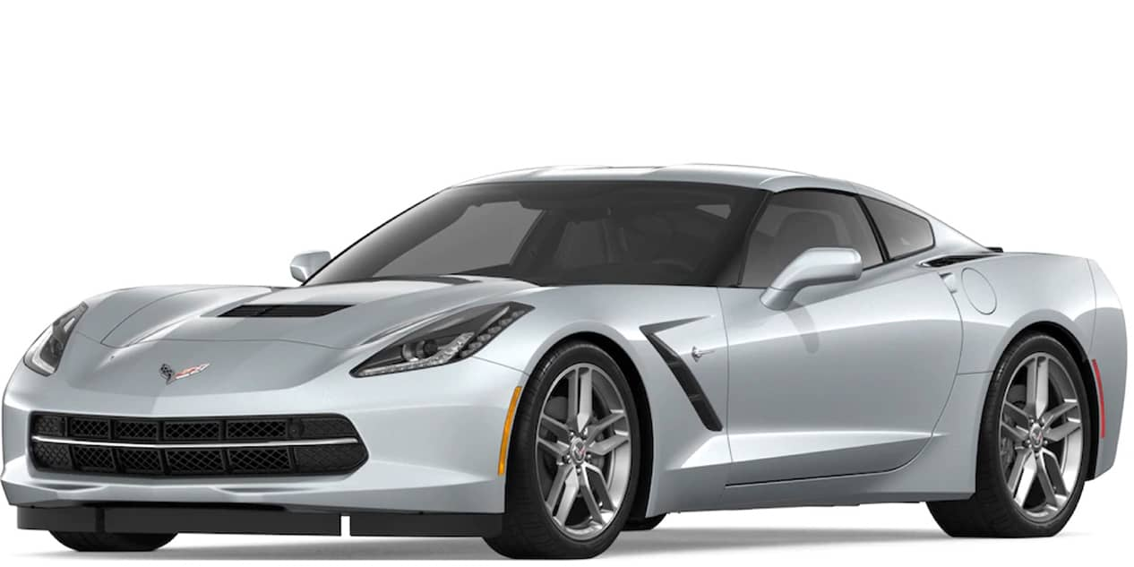 Blade Silver Metallic Corvette Stingray