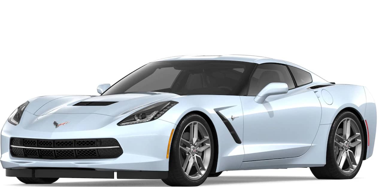 Ceramic Matric Gray Metallic Corvette Stingray