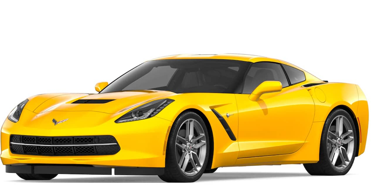 Corvette Racing Yellow Tintcoat Corvette Stingray