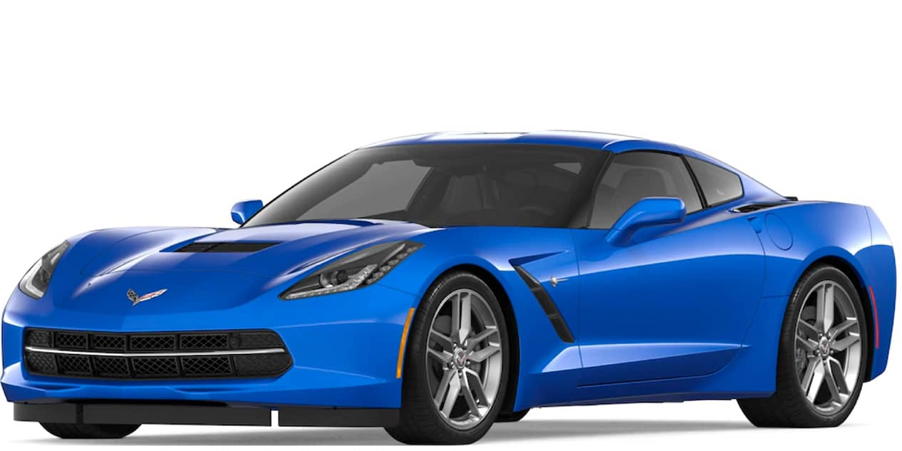 Elkhart Lake Blue Metallic Corvette Stingray