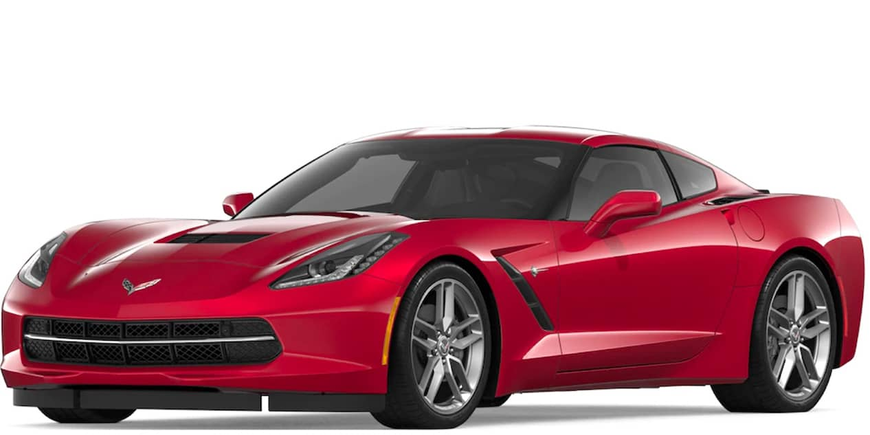 Long Beach Red Tintcoat Corvette Stingray