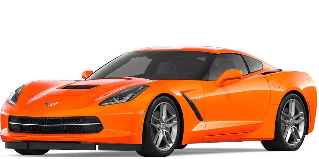Sebring Orange Tintcoat Corvette Stingray