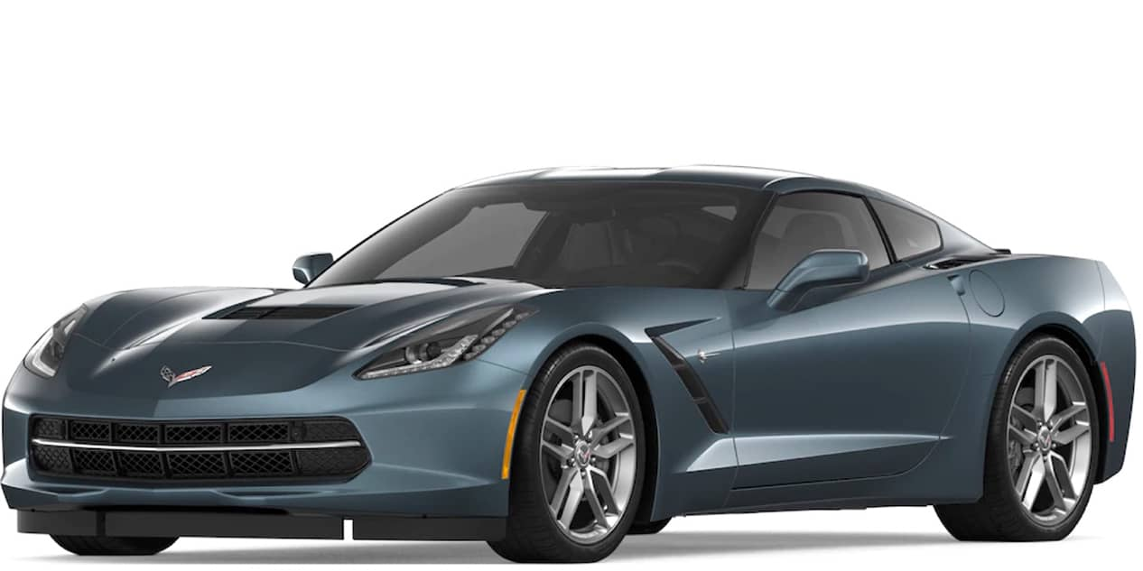 Shadow Gray Metallic Corvette Stingray