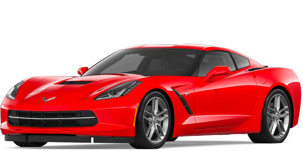 Torch Red Corvette Stingray