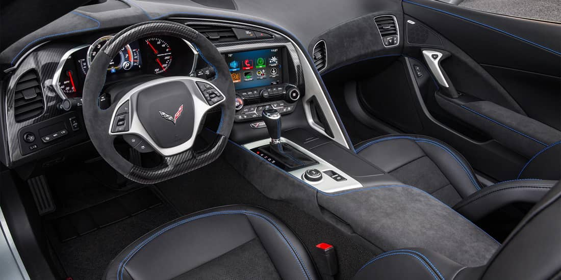 2019 Chevrolet Corvette Stingray Interior Front Seat