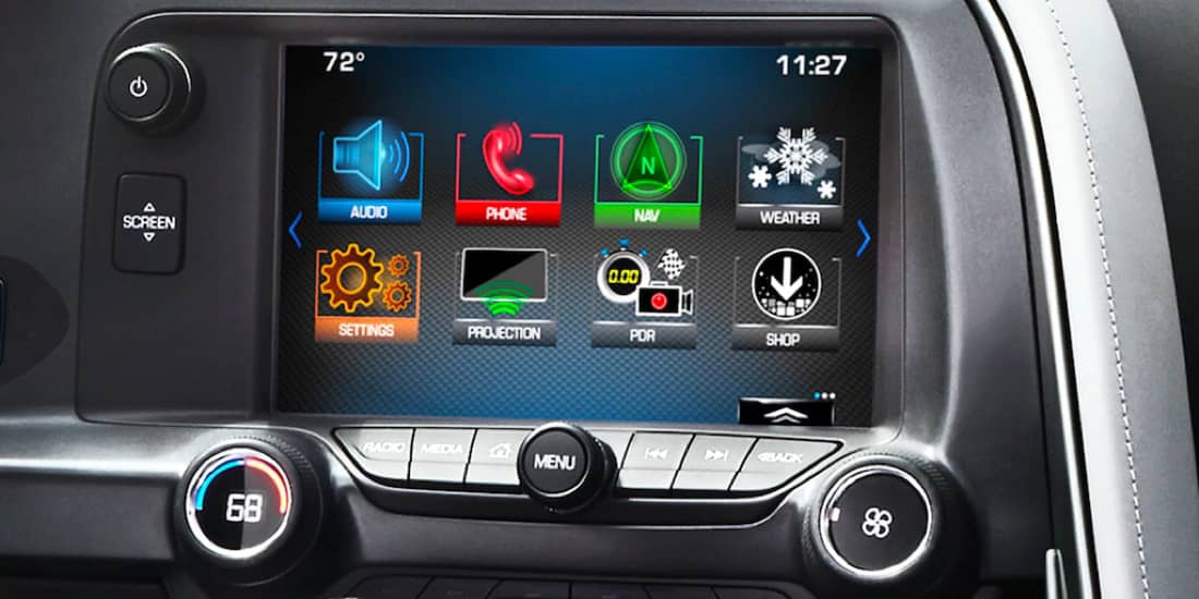 Infotainment System Screen Display