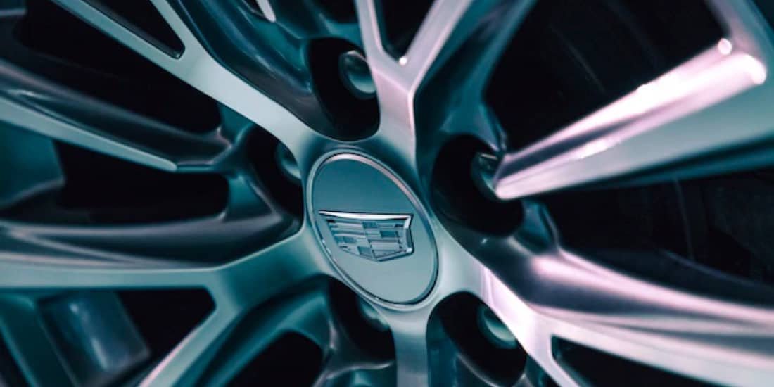 Close up of wheels