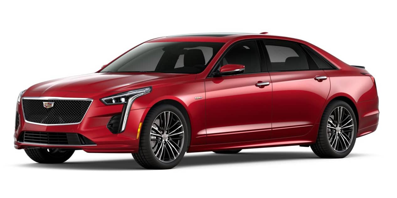 Red Horizontal Tintcoat 2020 Cadillac CT6-V