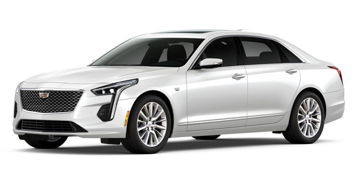 Crystal White Tricoat 2020 Cadillac CT6