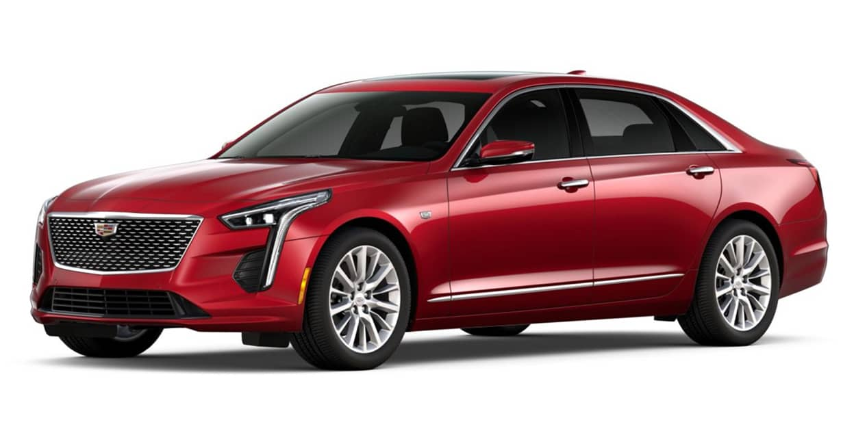 Red Horizon Tintcoat 2020 Cadillac CT6