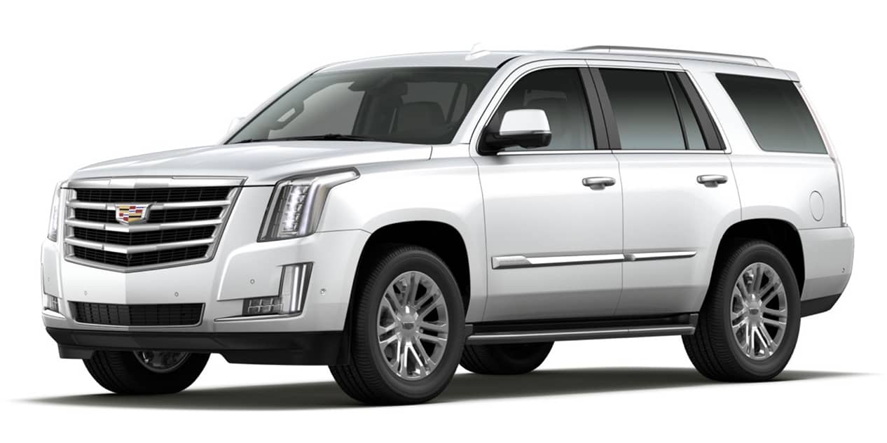 Crystal White Tricoat 2020 Cadillac Escalade