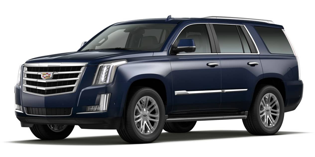 Dark Adriatic Blue Metallic 2020 Cadillac Escalade