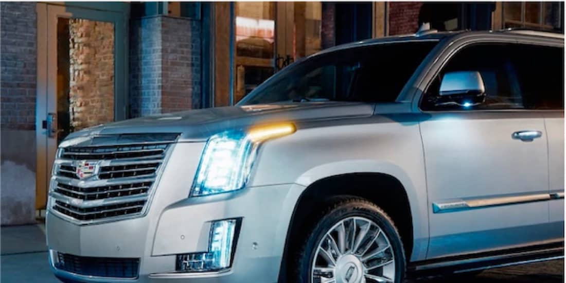 2020 Cadillac Escalade's Concierge Lighting