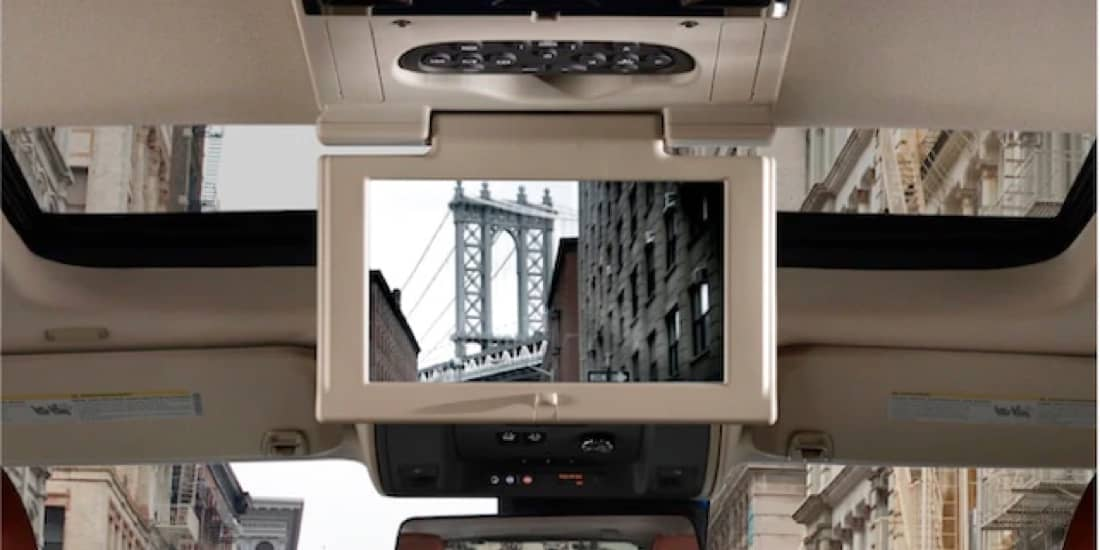 2020 Cadillac Escalade's Rear Seat Entertainment System
