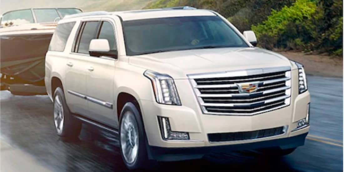 2020 Cadillac Escalade with the Trailering Package