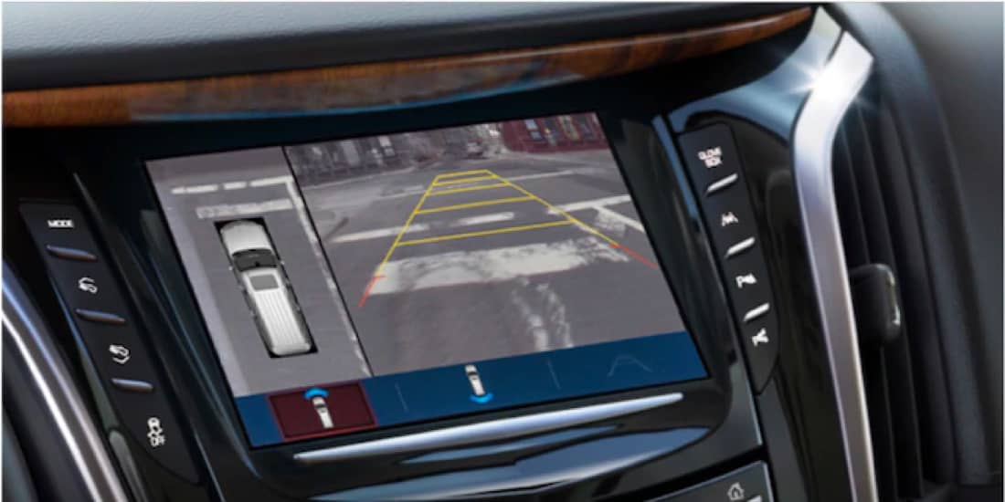 2020 Cadillac Escalade's Surround Vision Screen
