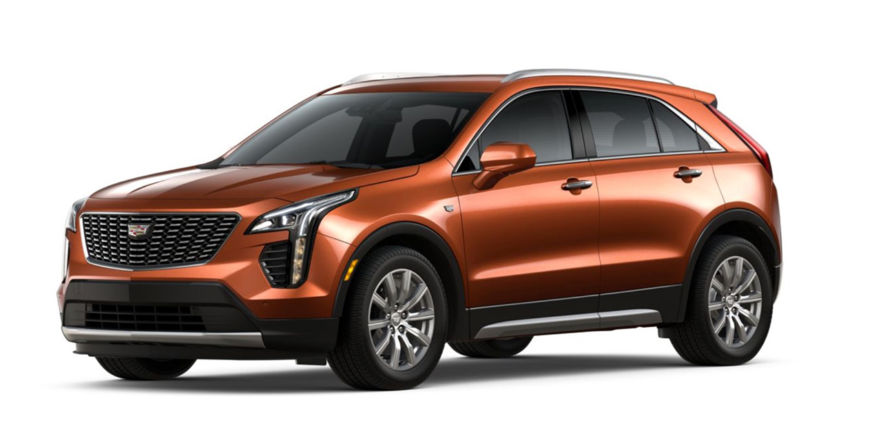 Autumn Metallic 2020 Cadillac XT4