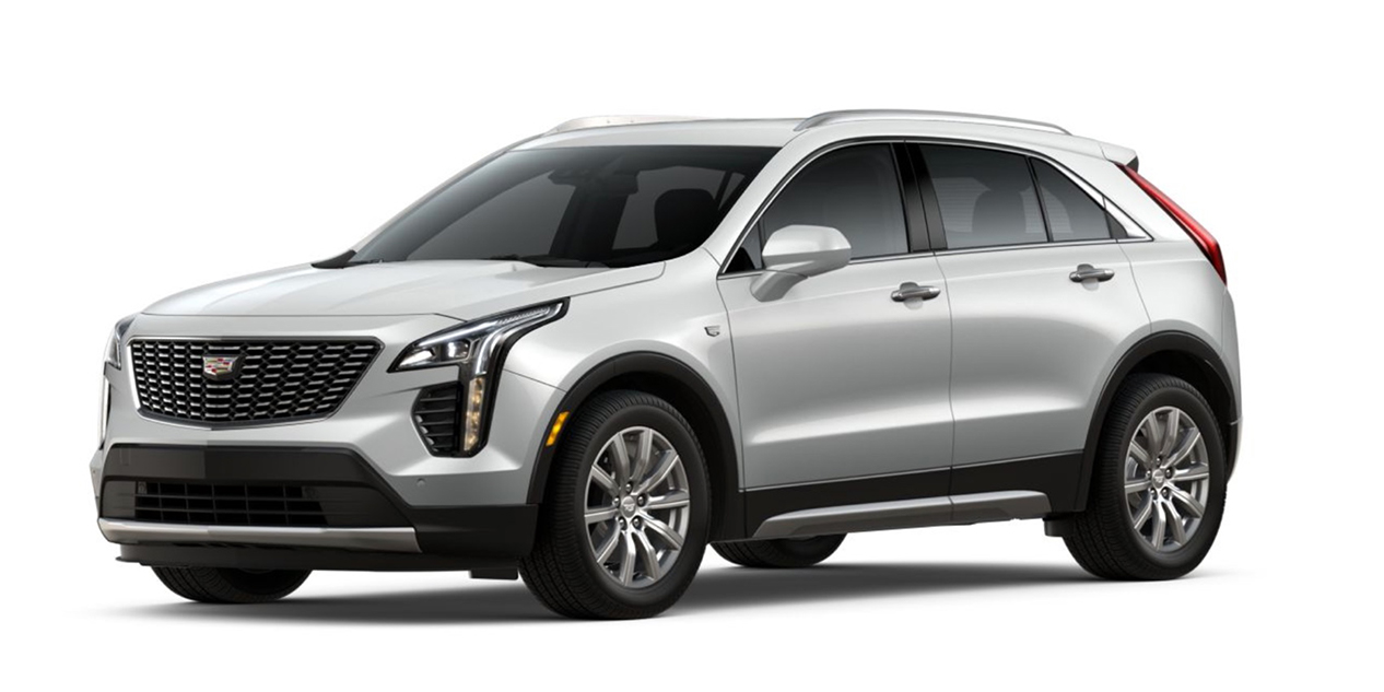 Crystal White Tricoat 2020 Cadillac XT4