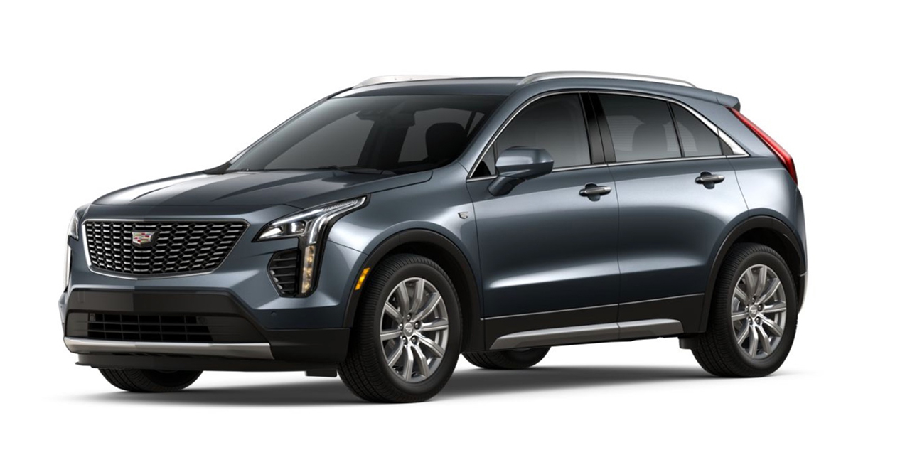 Shadow Metallic 2020 Cadillac XT4