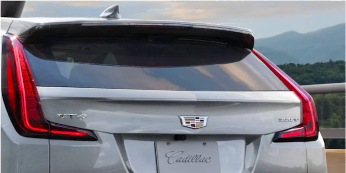 2020 Cadillac XT4's LED Taillamps