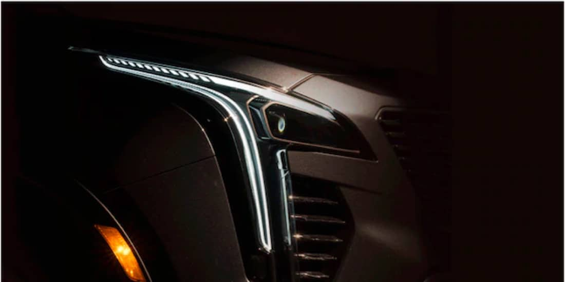 2021 Cadillac XT4 With Signature Led Lighting