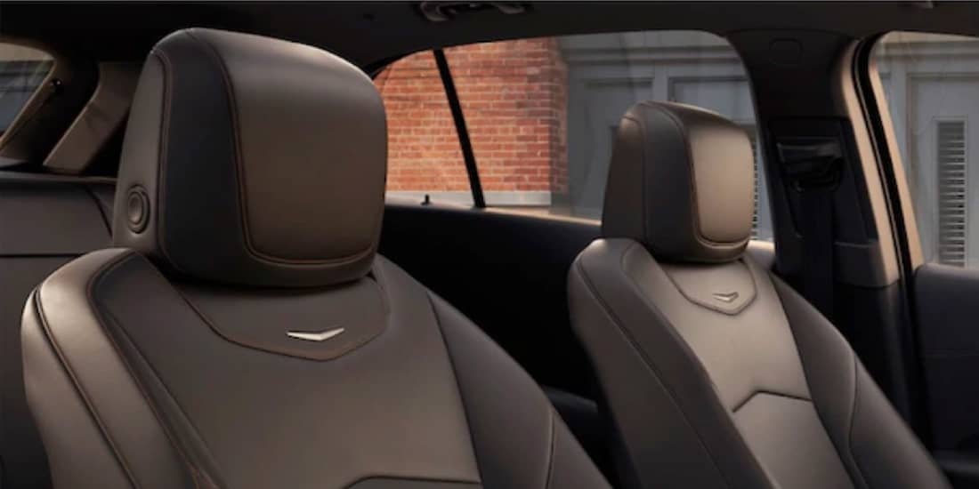 2020 Cadillac XT4's Front Lumbar Massaging Seats