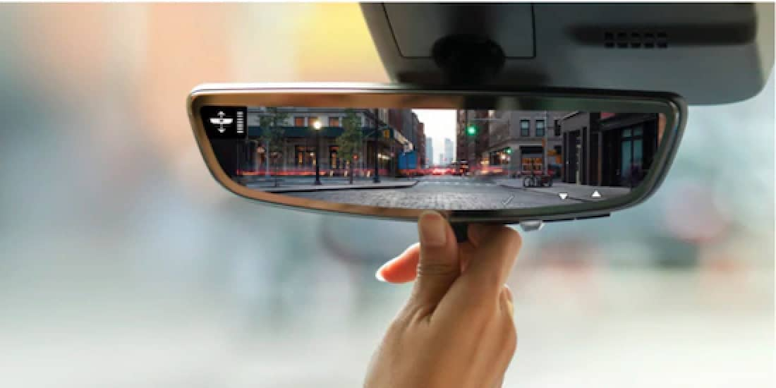 2021 Cadillac XT4's Rear Camera Mirror
