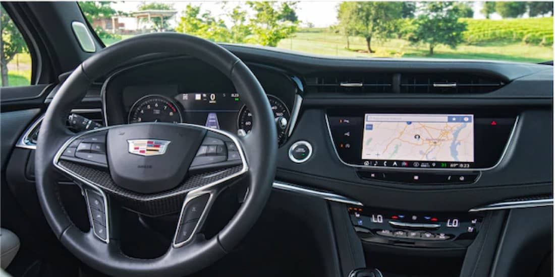 XT5 infotainment and driver selectable modes