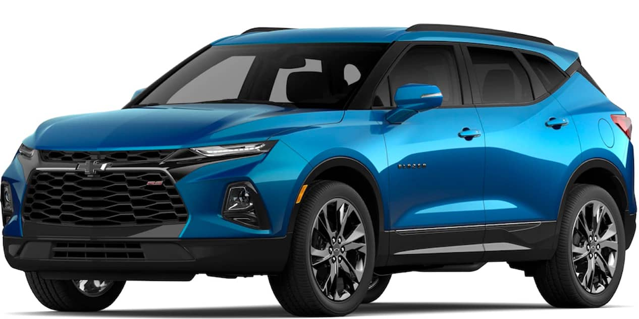 Chevrolet Blazer Bright Blue Metallic