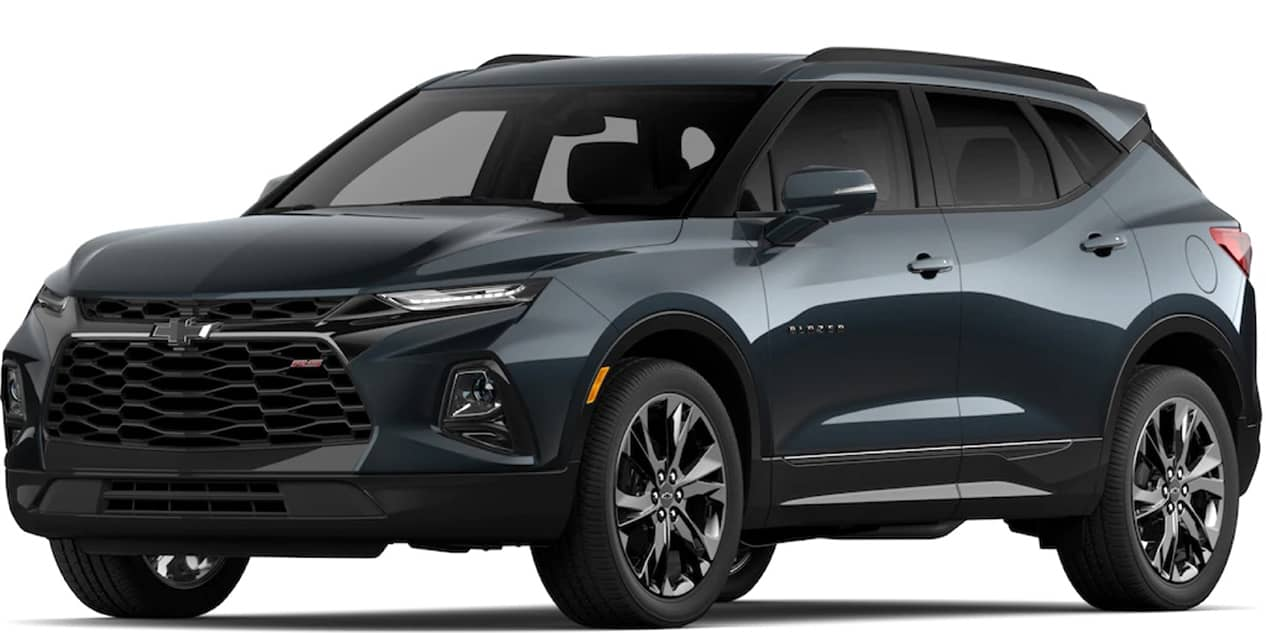 Chevrolet Blazer Graphite Metallic