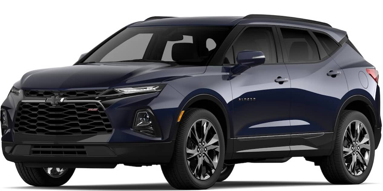 Chevrolet Blazer Midnight Blue Metallic