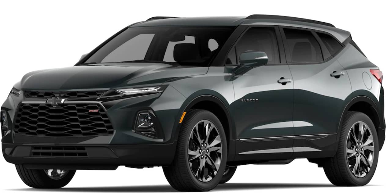 Chevrolet Blazer Nightfall Gray Metallic