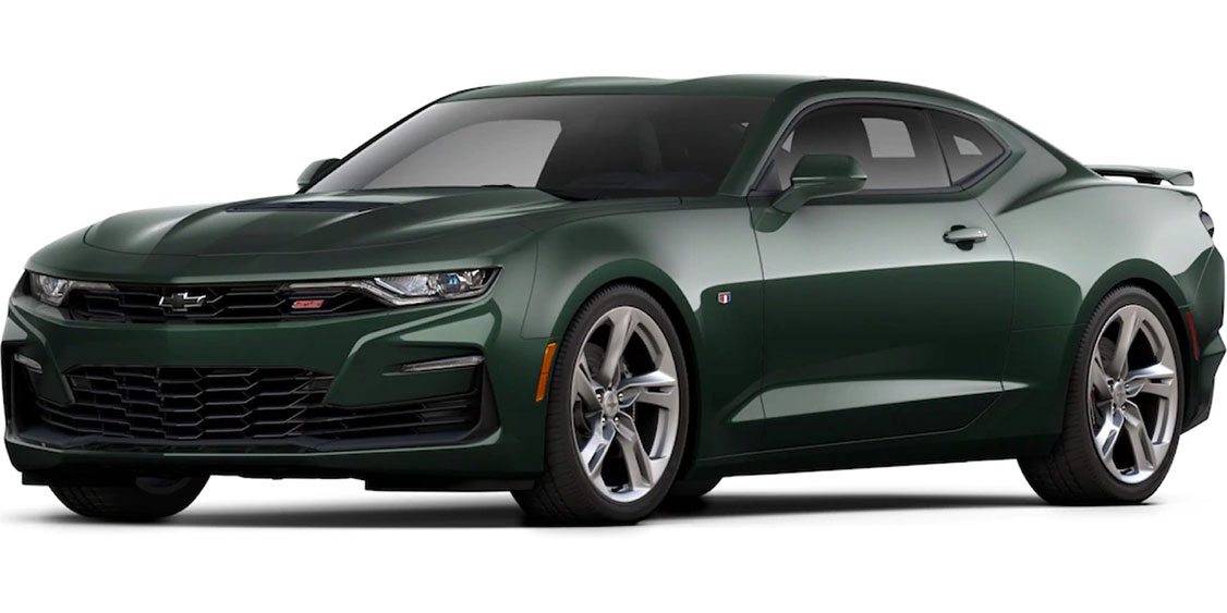 Camaro Rally Green Metallic