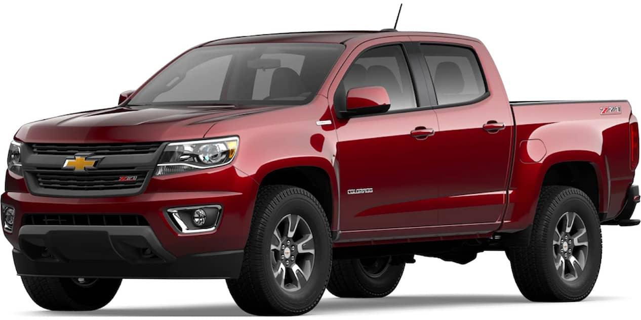Chevrolet Colorado Cajun Red Tintcoat