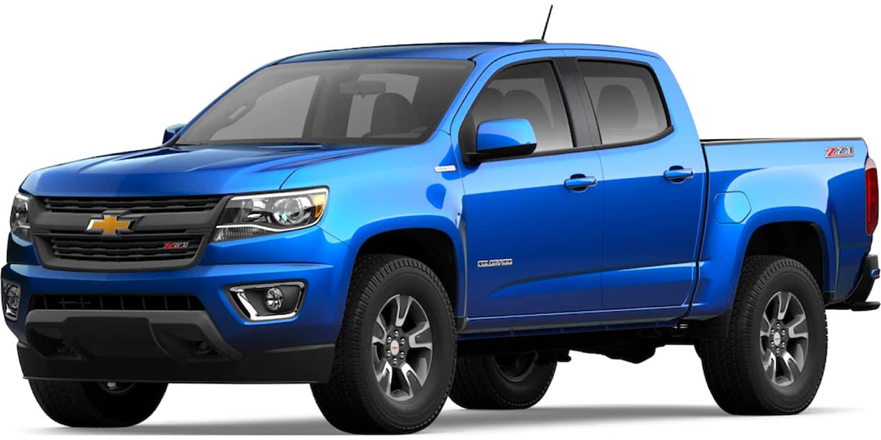 Chevrolet Colorado Kinetic Blue Metallic