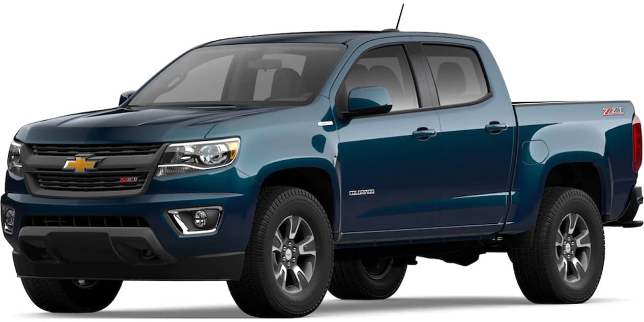 Chevrolet Colorado Pacific Blue Metallic