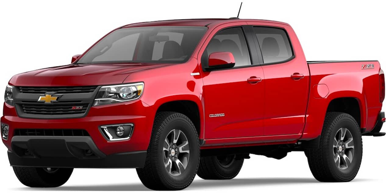 Chevrolet Colorado Red Hot