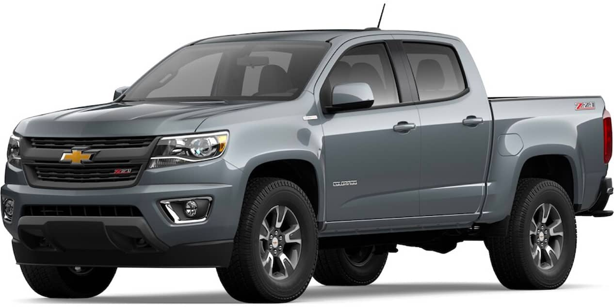 Chevrolet Colorado Satin Steel Metallic