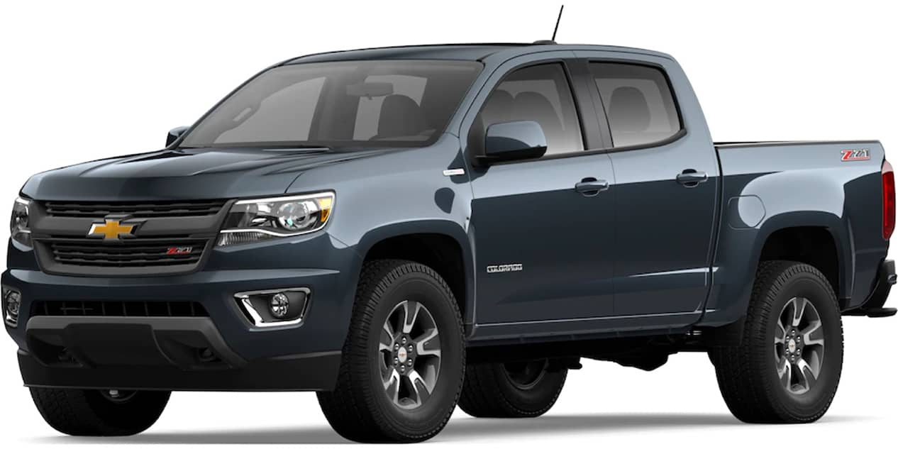 Chevrolet Colorado Shadow Gray Metallic