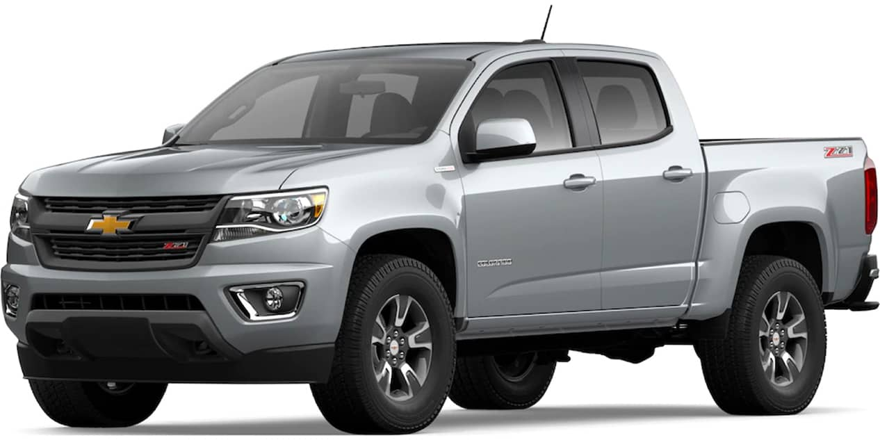 Chevrolet Colorado Silver Ice Metallic