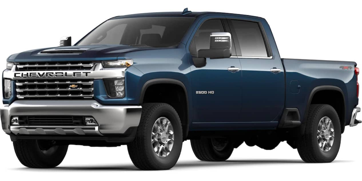 Northsky Blue Metallic Silverado HD