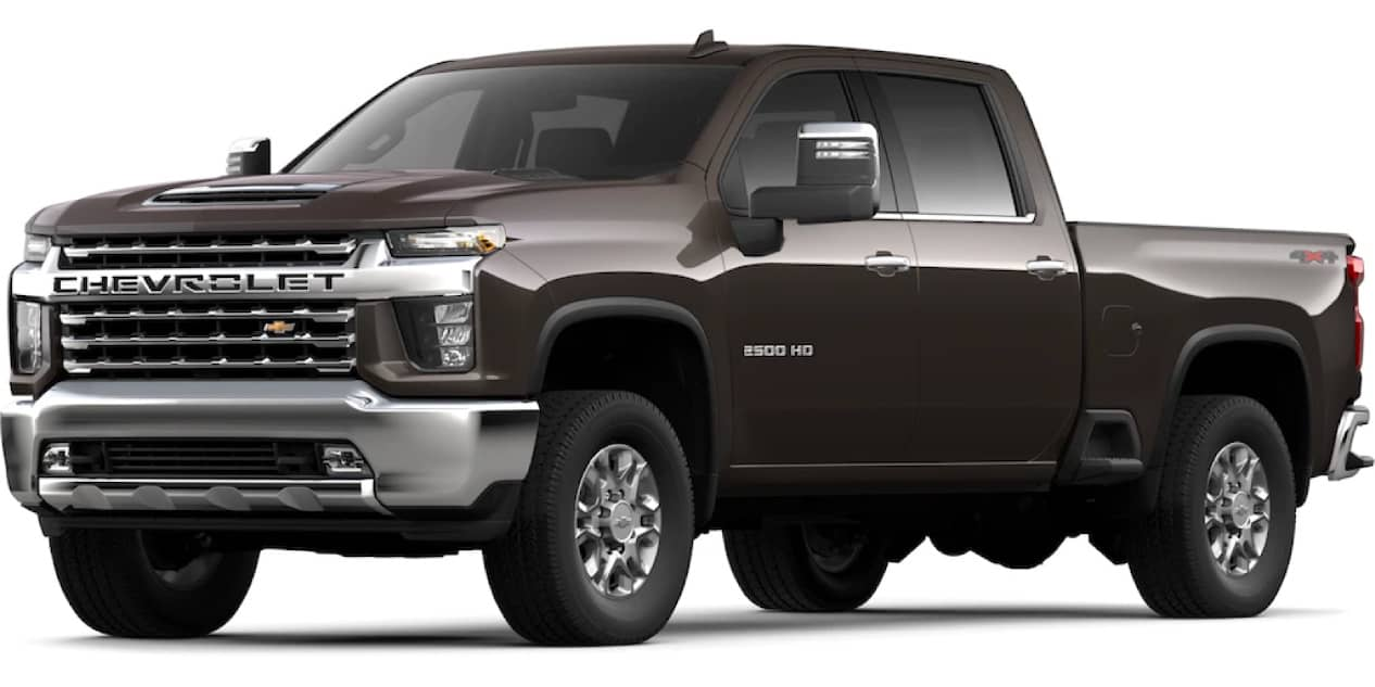 Oxford Brown Metallic Silverado HD