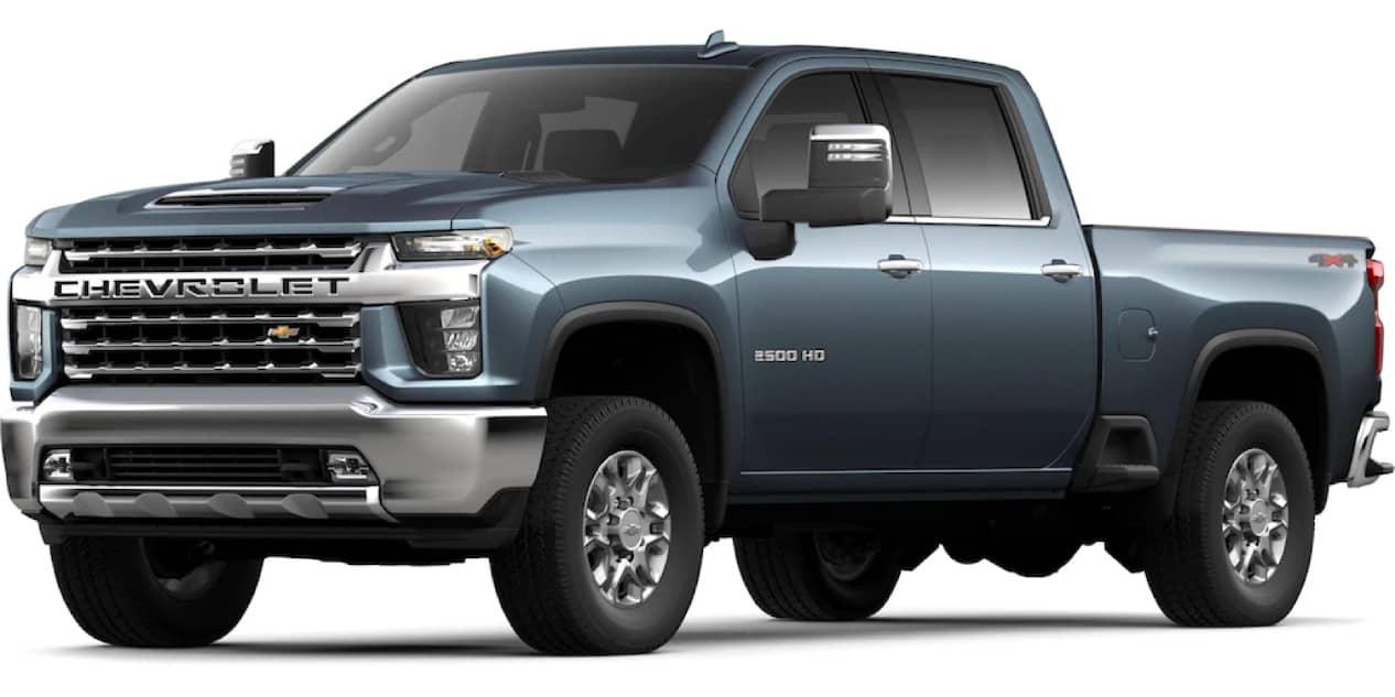 Shadow Gray Metallic Silverado HD