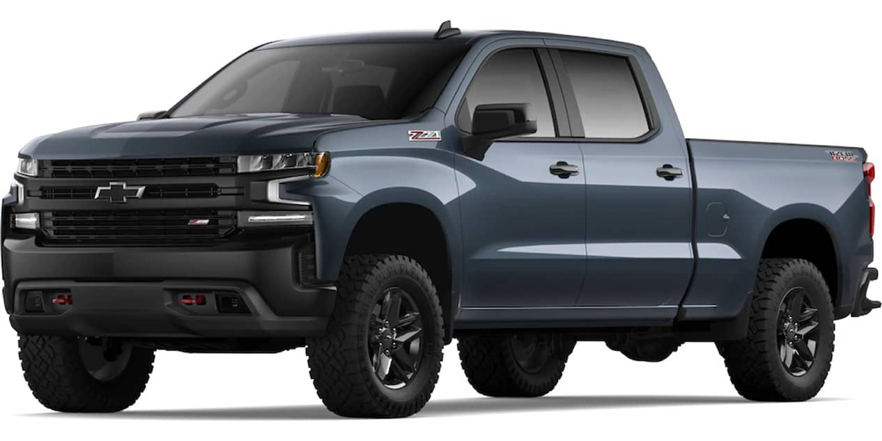 Chevrolet Silverado Shadow Gray Metallic