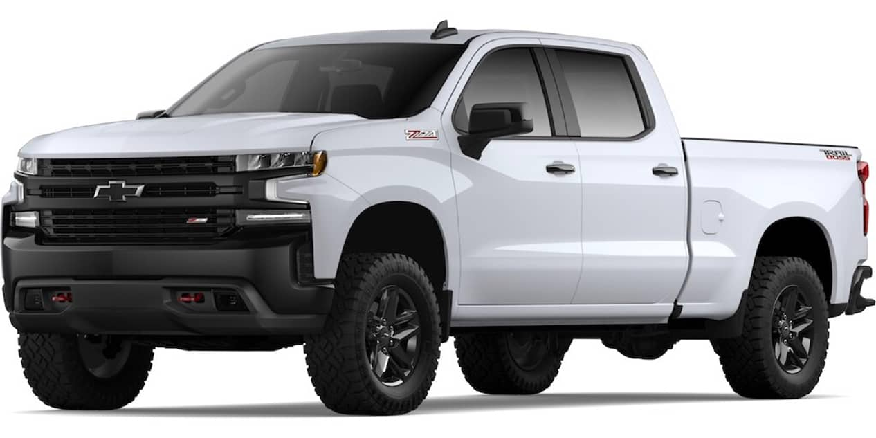 Chevrolet Silverado Summit White