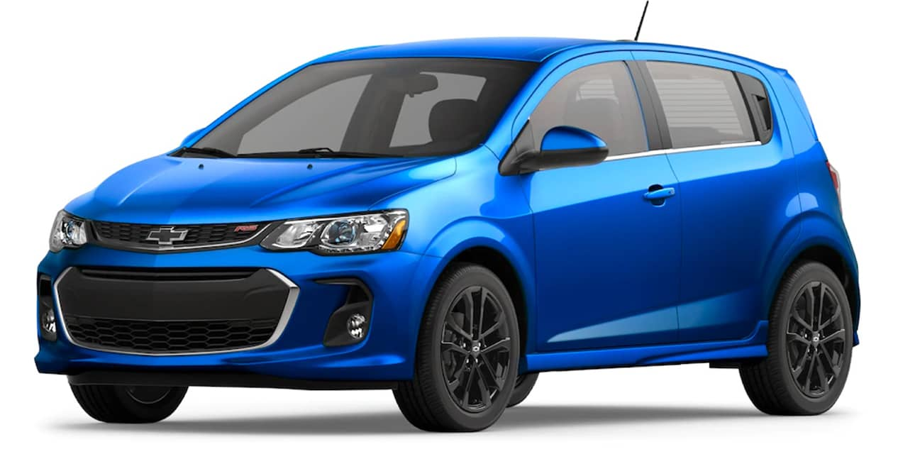 Chevrolet Sonic Kinetic Blue Metallic